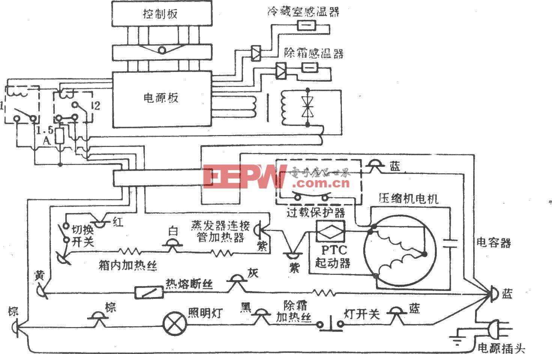 黄河牌BCD-170型电冰箱