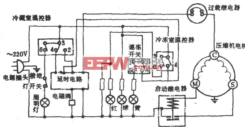 香雪海牌BCD-245A电冰箱
