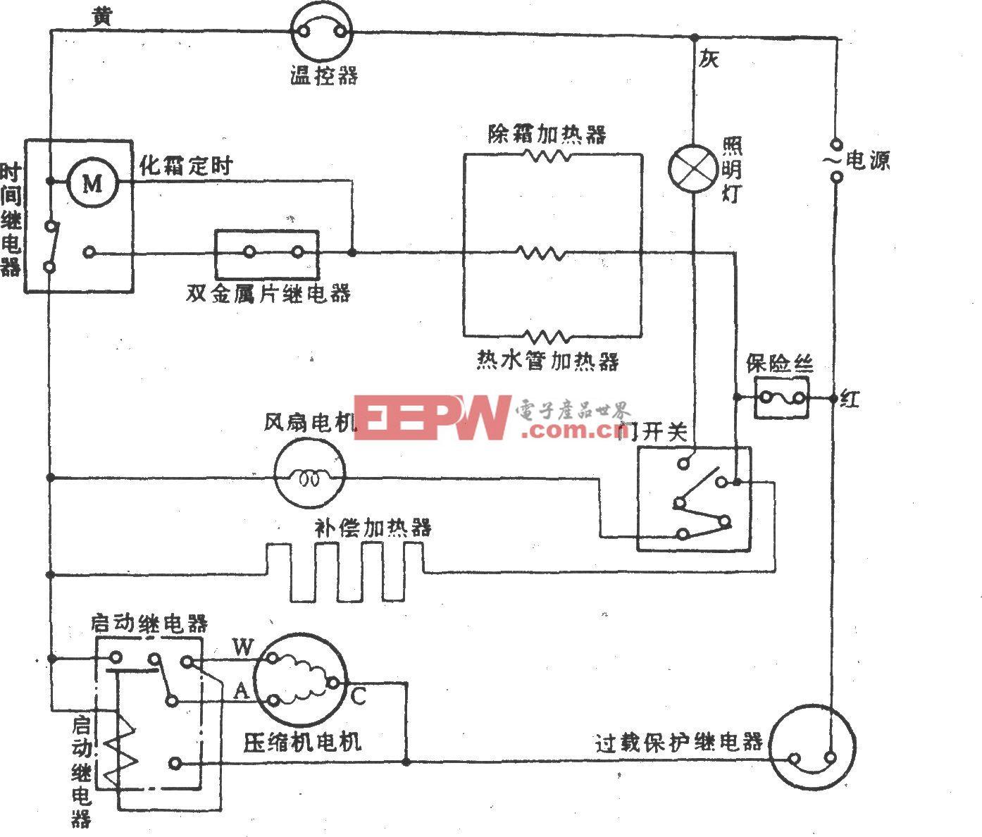 日本玫瑰SR-190电冰箱
