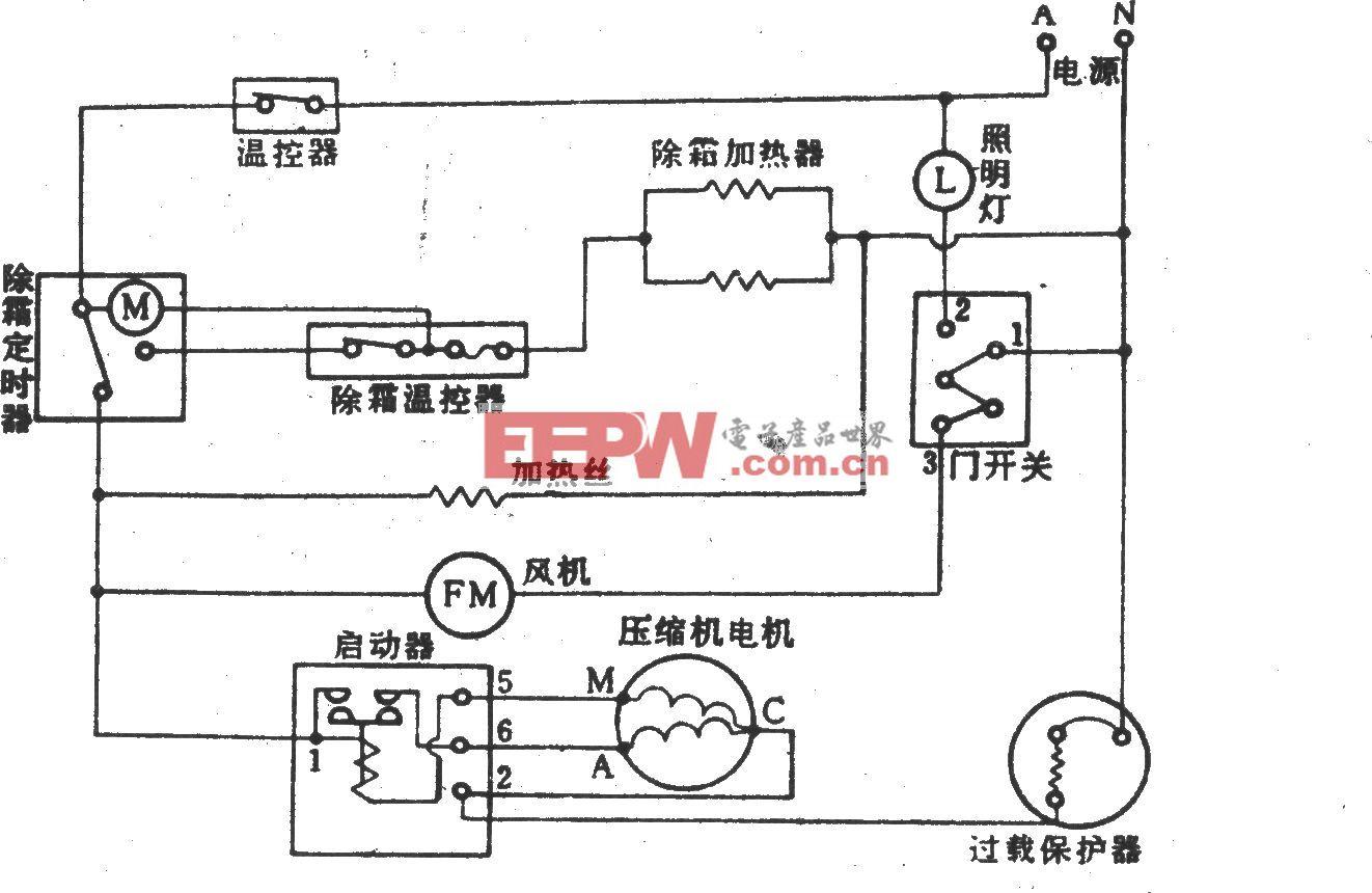 日本皇冠(CORONA)KR-l98A电冰箱