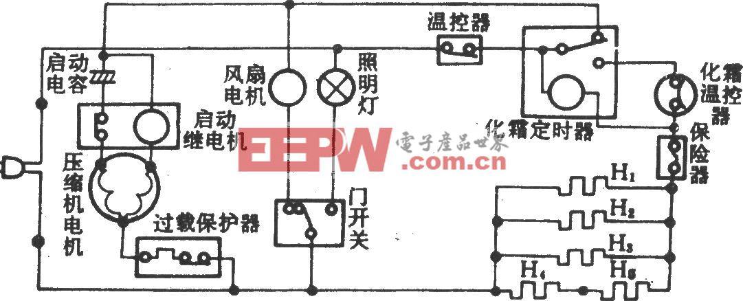 三菱MRE-180升电冰箱