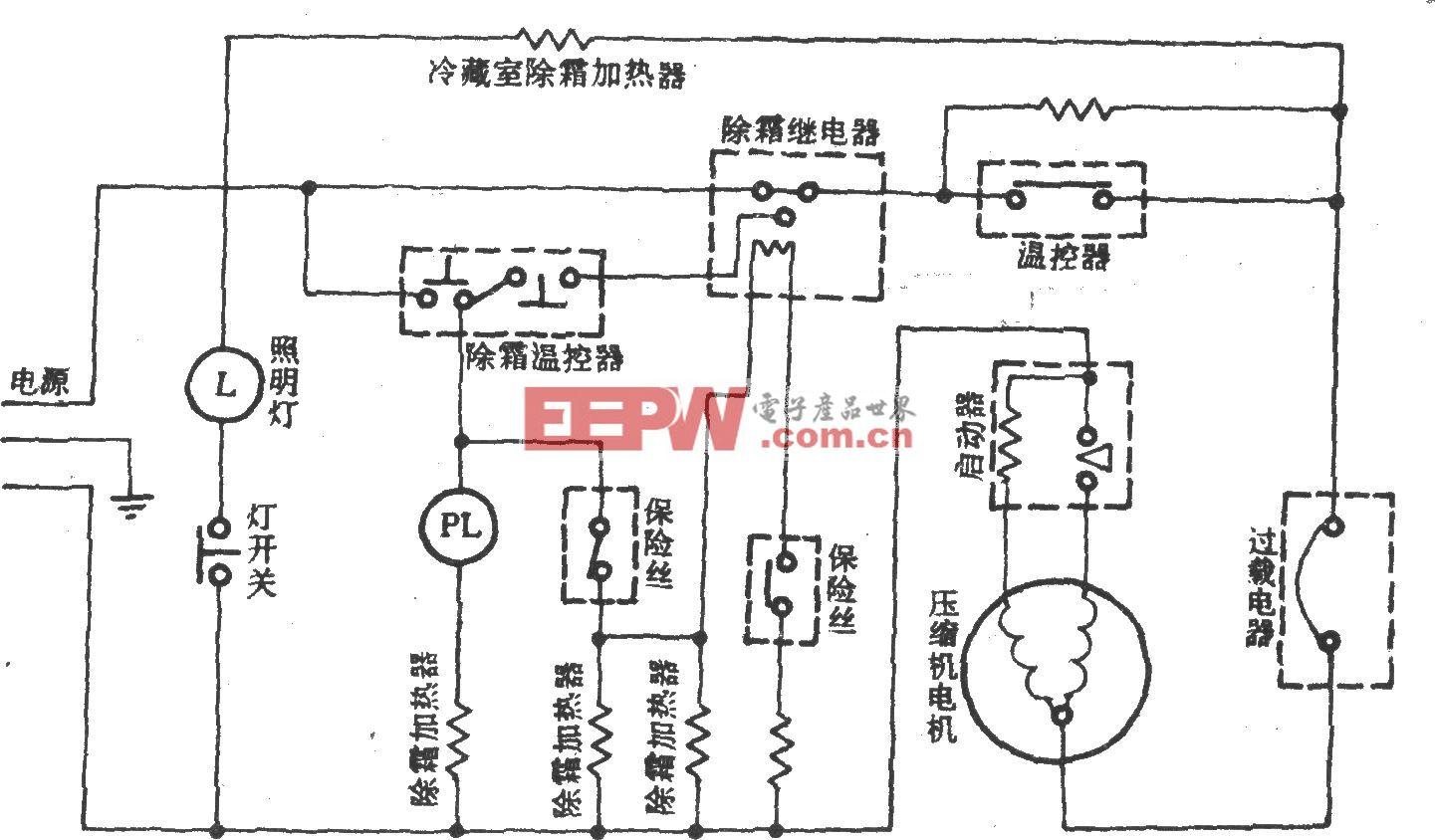 三菱MRE-153DG/DA双门双温直冷式电冰箱