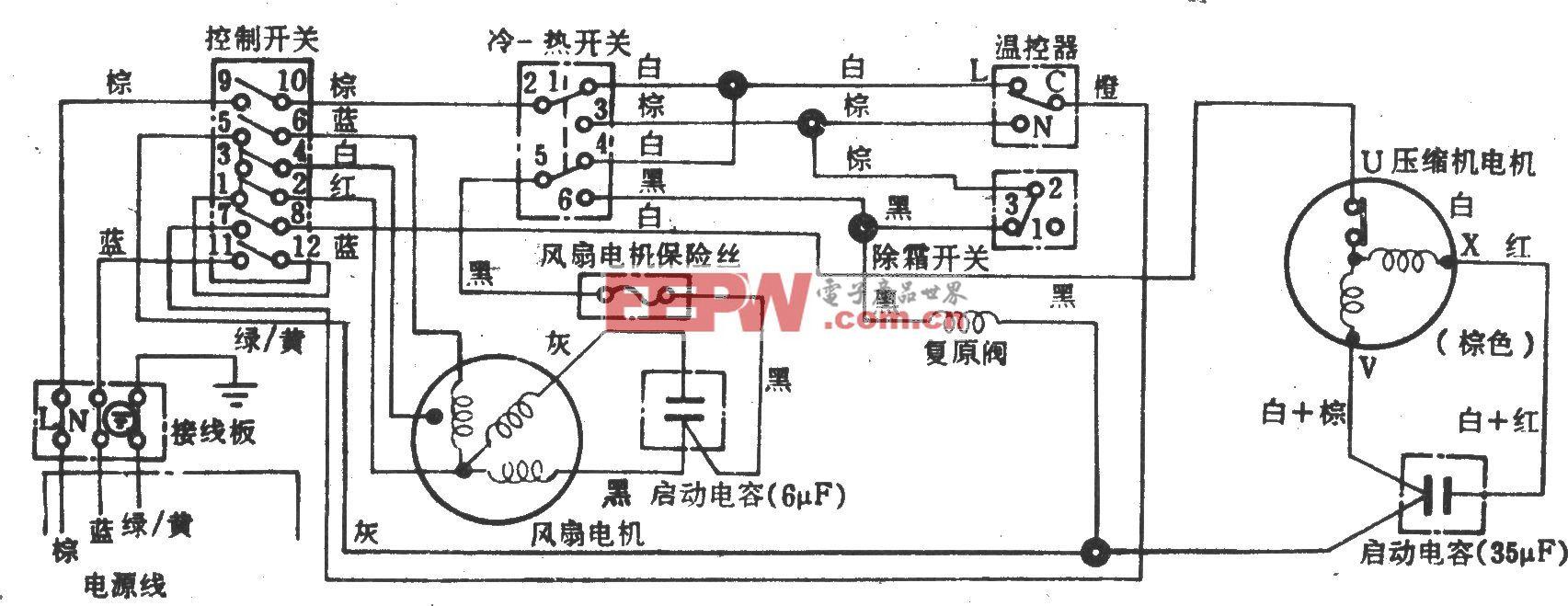 日立RA-2181CH电冰箱