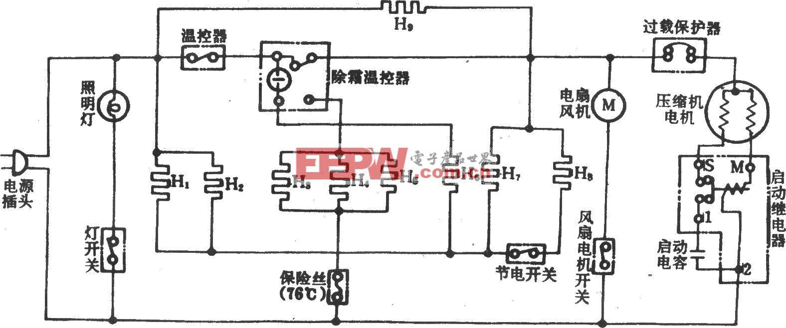 日立R-197H问冷式电冰箱