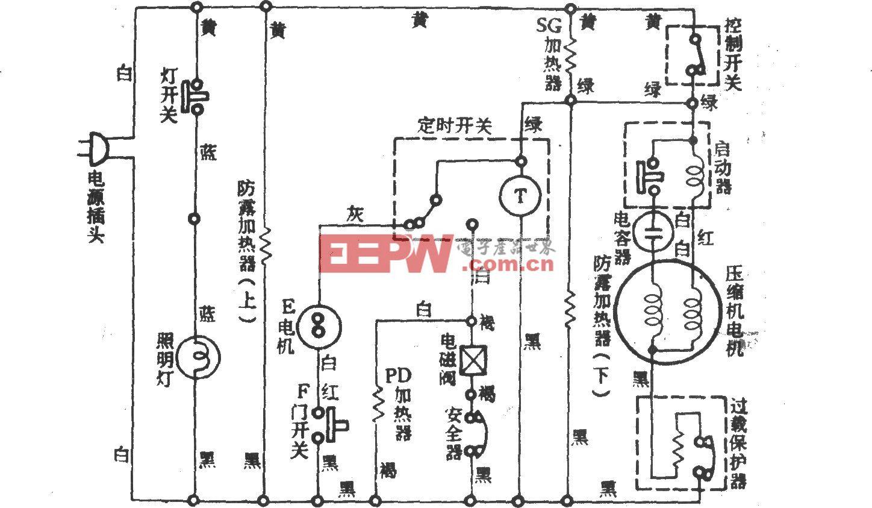台湾热气除霜电冰箱 (喷气式)间冷式电冰箱