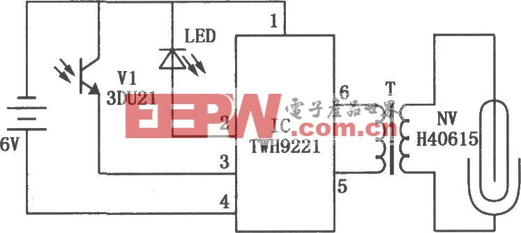 TWH9211构成的冰箱电子除臭电路