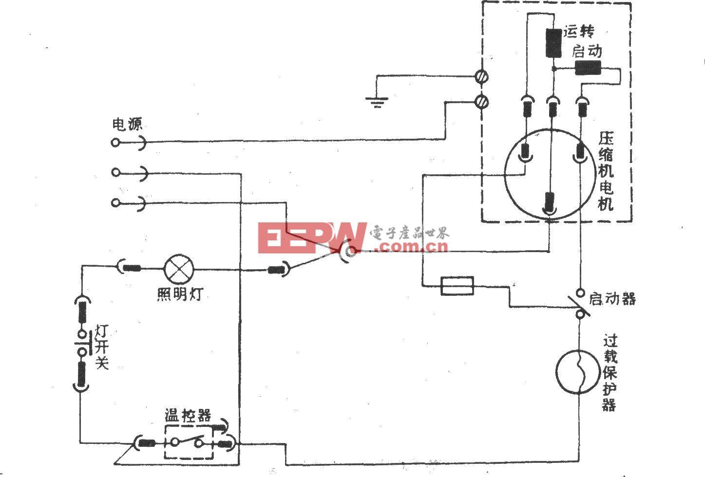 莱哈尔HB-200(200升)电冰箱