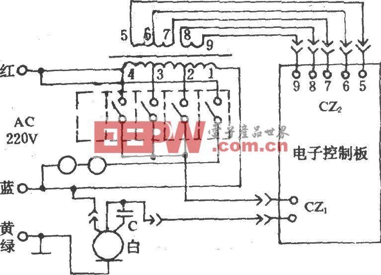 電風扇控制電路(長城FS11-40)