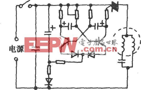 电风扇模拟自然风电路(二十一)