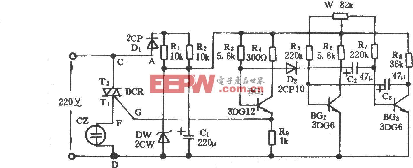 电风扇模拟自然风电路(十三)