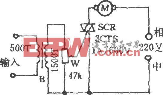 电风扇音乐控制电路