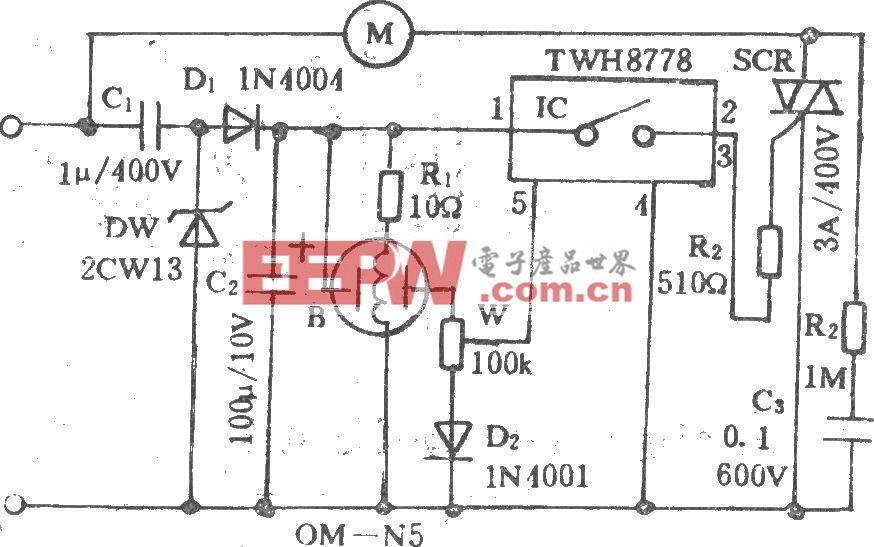 换气扇自动控制电路