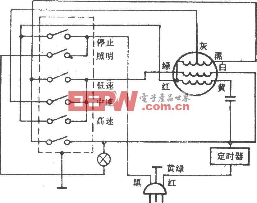 落地扇电路(长风FS-40)