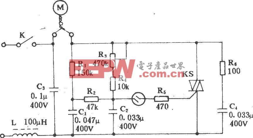 电风扇无级调速器