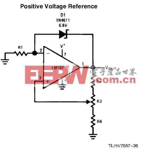 ICL7106电压表头电路原理图