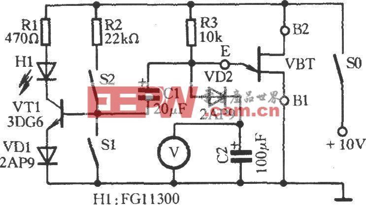 单结晶体管工作性能速测电路