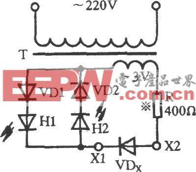 巧判半导体二极管电路