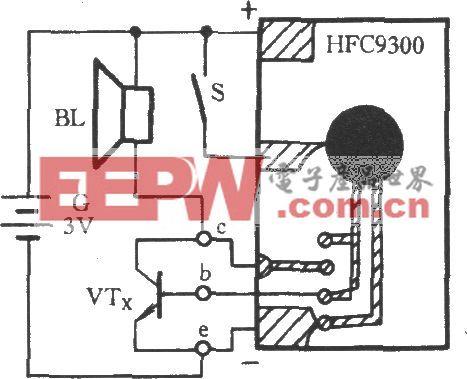 三极管工作性能速测电路