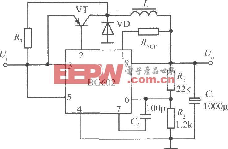 BG602组成的自激开关式集成稳压电源