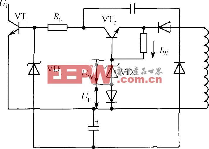 振铃式开关电源恒流驱动电路