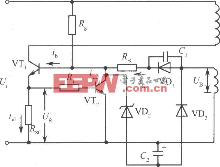 振铃式开关启动保护电路