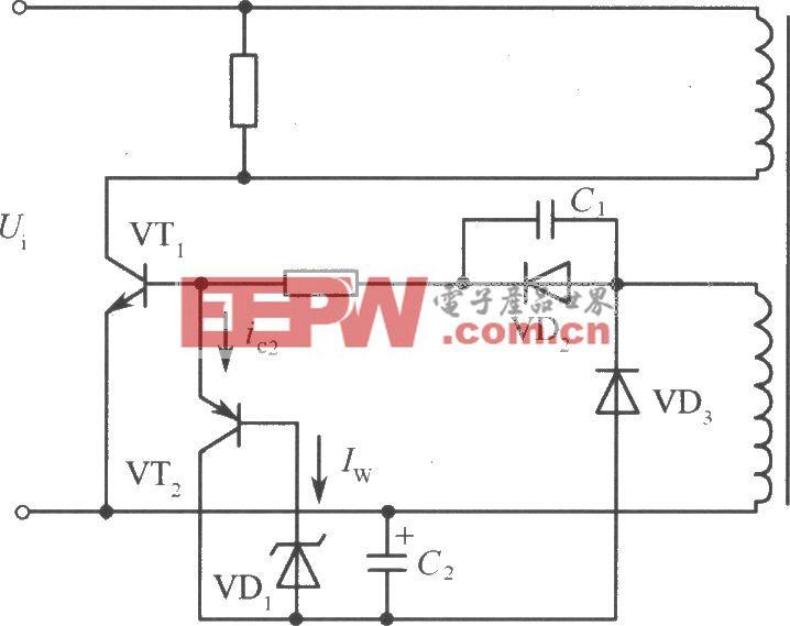 振铃式开关电源功率扩充办法