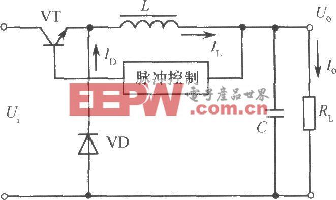 升压式斩波型开关稳压电源原理图
