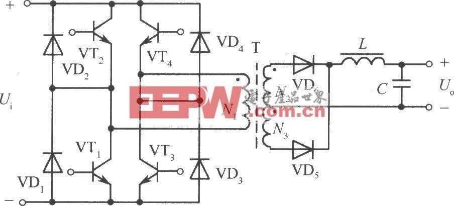 全桥变换式开关稳压电源