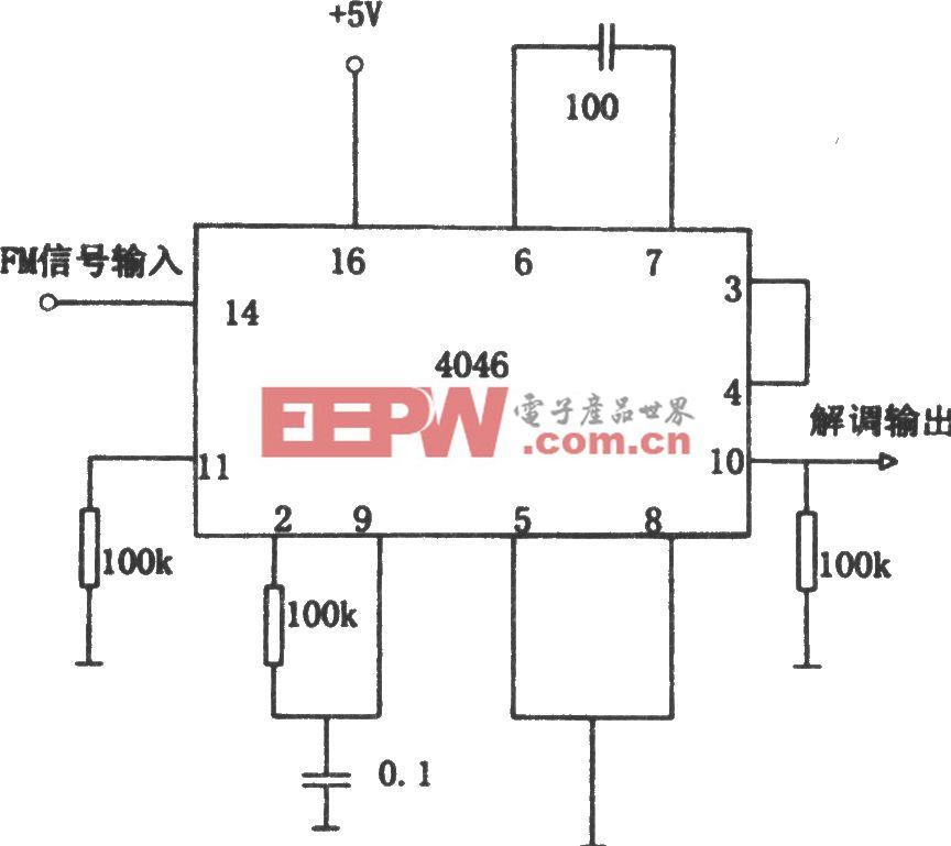 PLL调频解调器(4046)