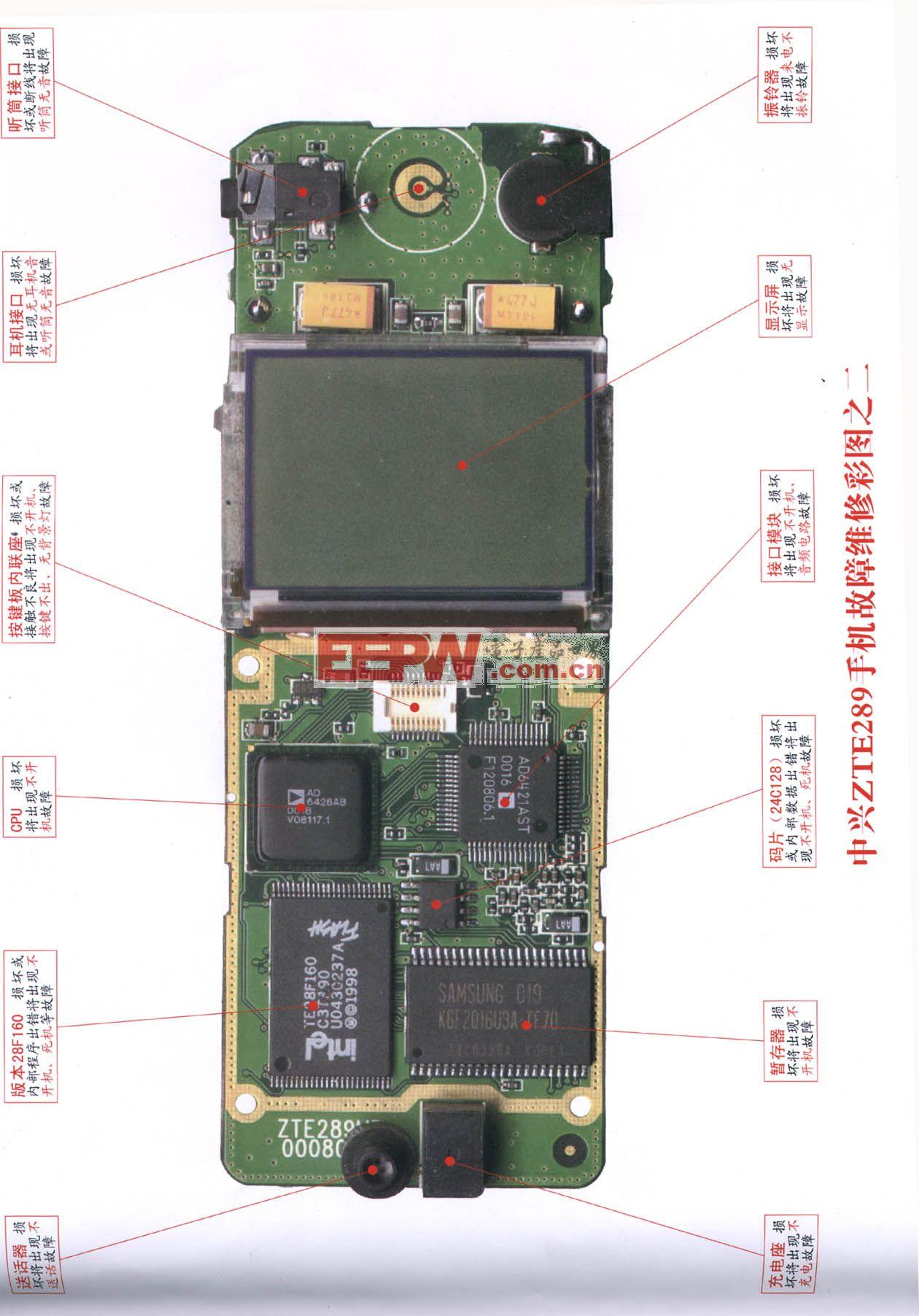 中兴ZTE289手机维修 图二