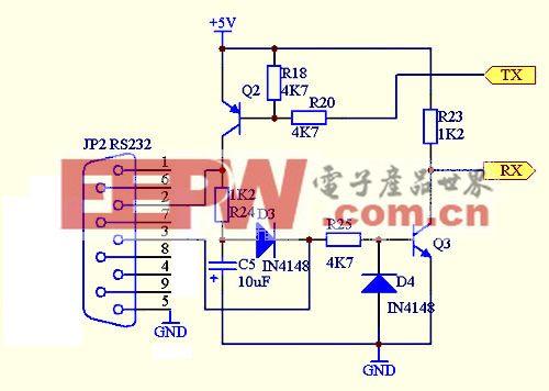 利用PC的RS232口控制LED灯