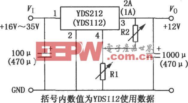 YDS100/200开关电源集成电路