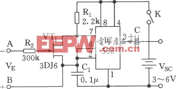 简易压控振荡器电路