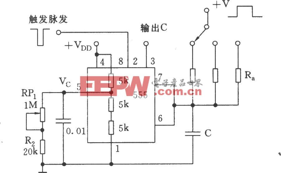 用于校正电容器容差的精确定时电路