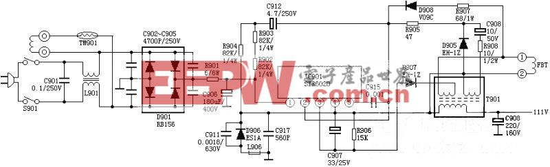 STR6020电源