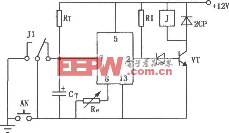 JEC-2组成的限时动作电路