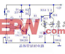 晶体管延时电路电路
