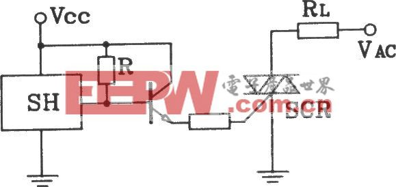 SH型霍尔开与双硅输出接口电路