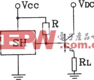 SH型霍尔开与射极输出接口电路