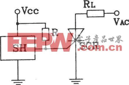 SH型霍尔开与单硅输出接口电路