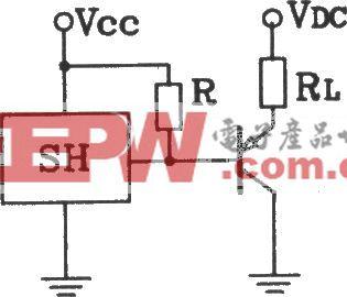 SH型霍尔开与集电极输出接口电路