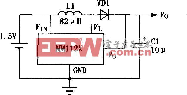 MM1126~MM1129升压DC-DC变换器