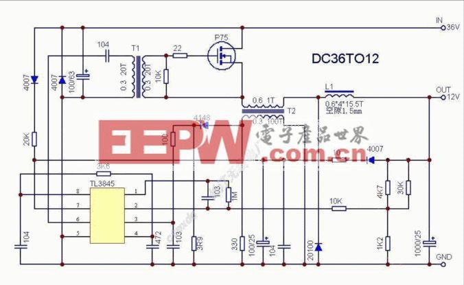 电动车转换器电路-II