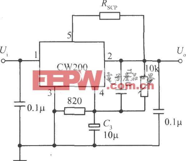 CW200构成的低纹波集成稳压电源之二