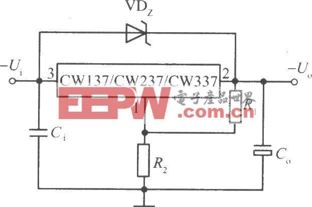 CW137/CW237/CW337构成的高输出电压集成稳压电源