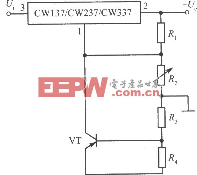 CW137/CW237/CW337构成的高稳定度集成稳压电源之三