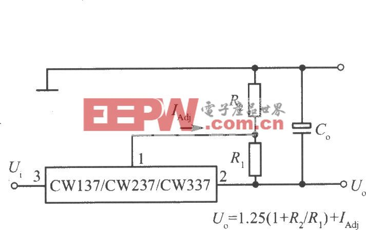 CW137/CW237/CW337的标准应用电路