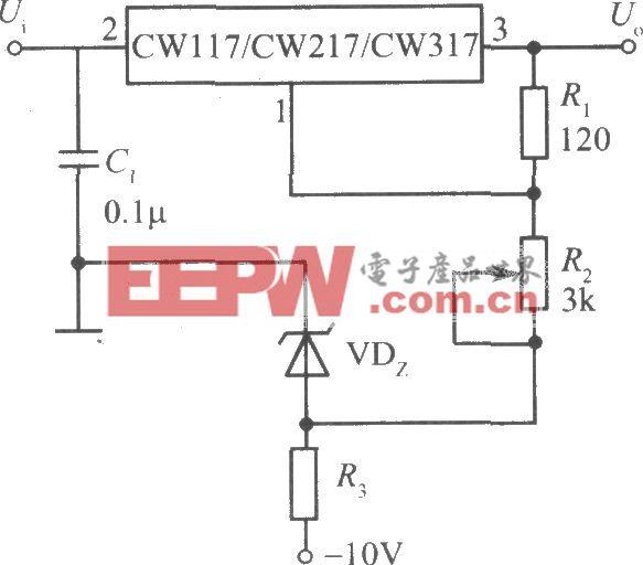 CW117/CW217/CW317构成的0~30V连续可调的集成稳压电源