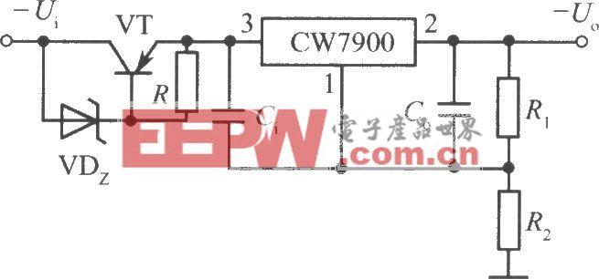 CW7900构成的高输入-高输出电压集成稳压电源电路之二