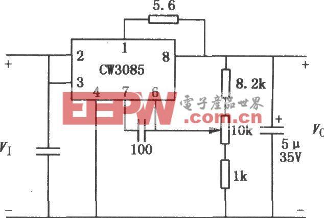 CW3085系列多端可調穩壓器